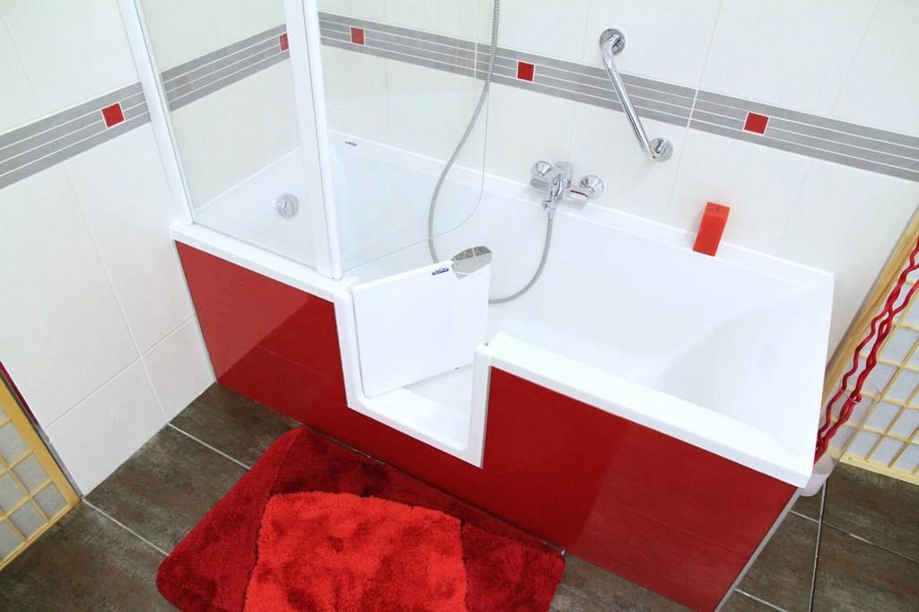 Badewanne Und Dusche In Einem Nachher Kombiniert Preise Einer Reihe inside proportions 1280 X 853