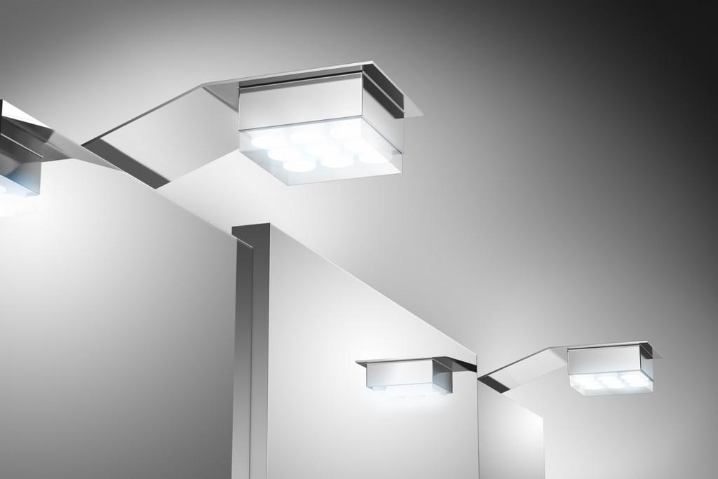 Badezimmer Spiegelschrank Beleuchtung Led 2er Set in proportions 1350 X 900