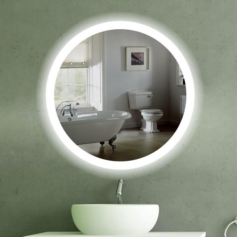 Badspiegel Rund Mit Beleuchtung Indoo Haus Design pertaining to proportions 1200 X 1200