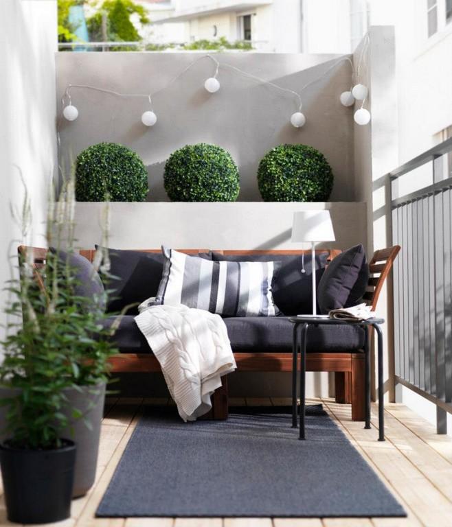 Balkon Ideen Interessante Einrichtungsideen Kleiner Balkons inside sizing 823 X 960