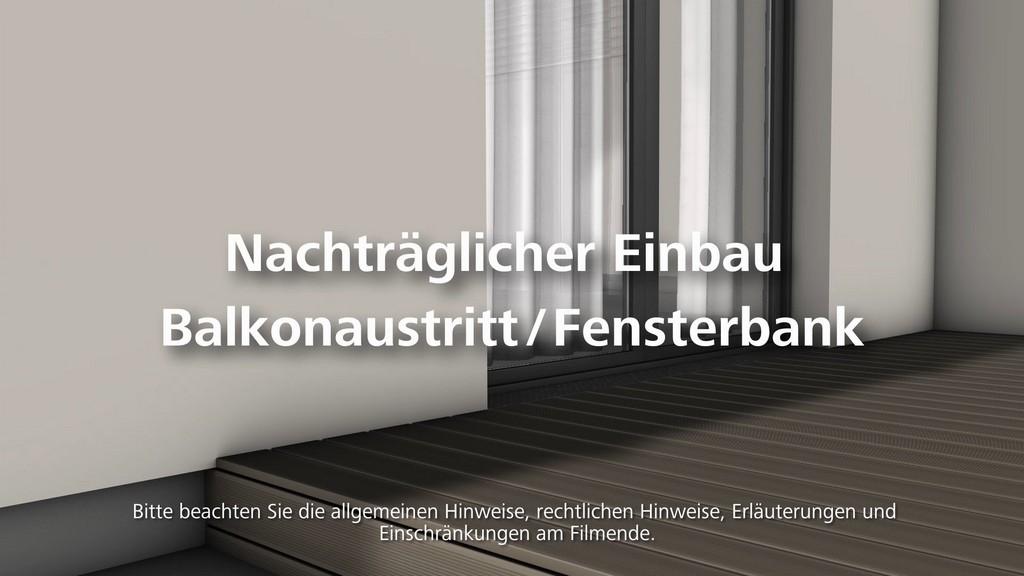 Balkonaustritt Bzw Fensterbank Einbauen Wrmedmmung Wdvs with sizing 1920 X 1080