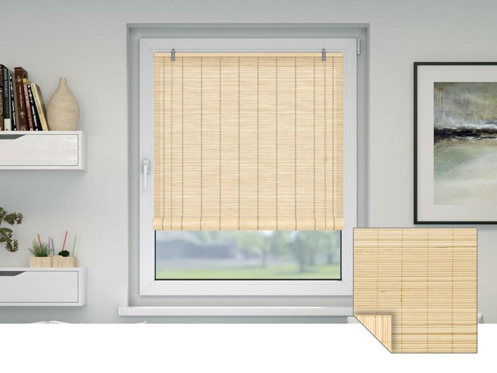 Bambusrollos Viele Farben Gren Fr Fenster Tren with dimensions 1200 X 900