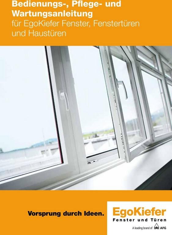 Bedienungs Pflege Und Wartungsanleitung Fr Egokiefer Fenster throughout dimensions 960 X 1310