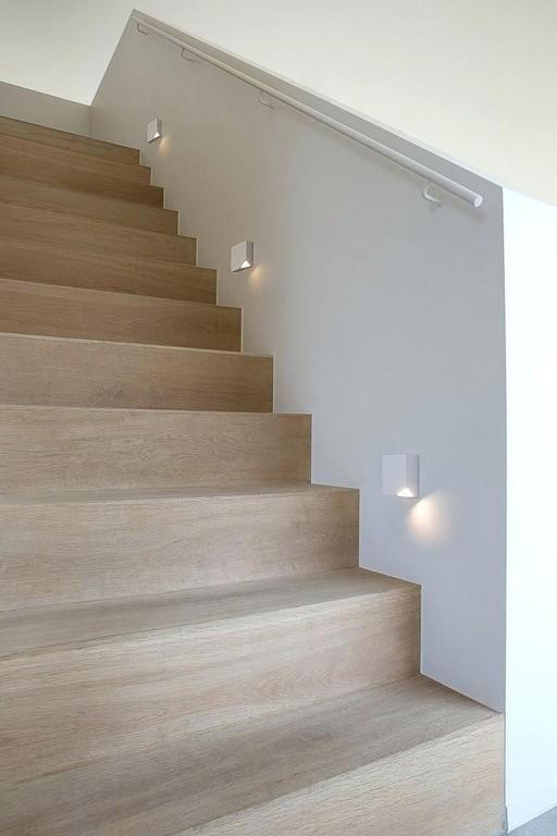 Beleuchtung Treppenaufgang Treppe Cremefarbener Laminat Innen Aussen with measurements 768 X 1152