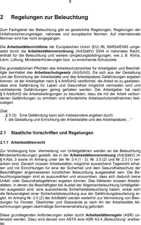 Beleuchtung Von Arbeitssttten Stand Der Regelsetzung B Grner Pdf pertaining to measurements 960 X 1531