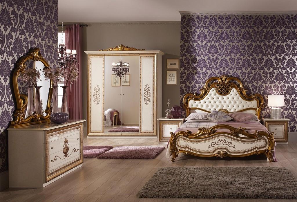 Bett Anja 180x200 Beige Gold Italien Luxus Fr Schlafzimmer Le Anib regarding dimensions 1200 X 816