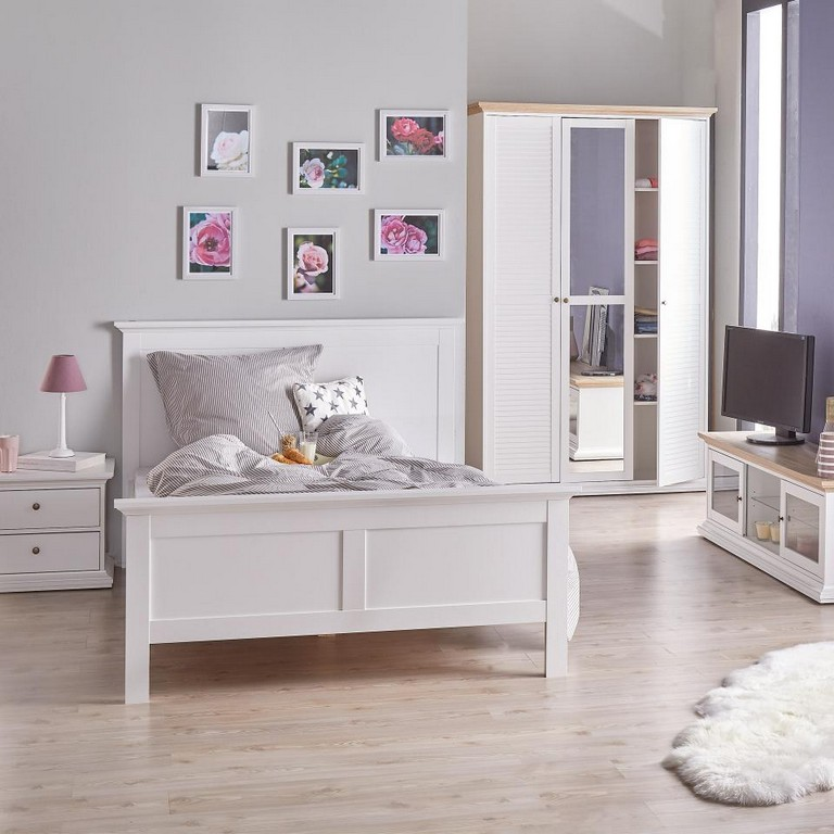 Bett Pariso 140x200 Wei Dnisches Bettenlager for proportions 960 X 960