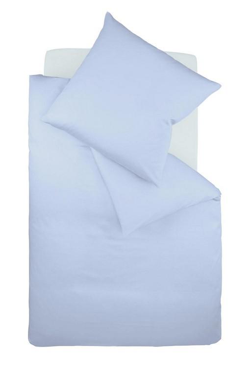 Bgelfreie Bettwsche Jersey Fleuresse Uni Bleu Hellblau Jersey with size 1024 X 1537