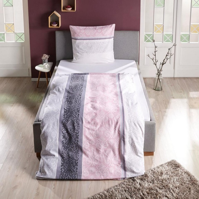 Bettwasche Grau Rosa Haus Ideen