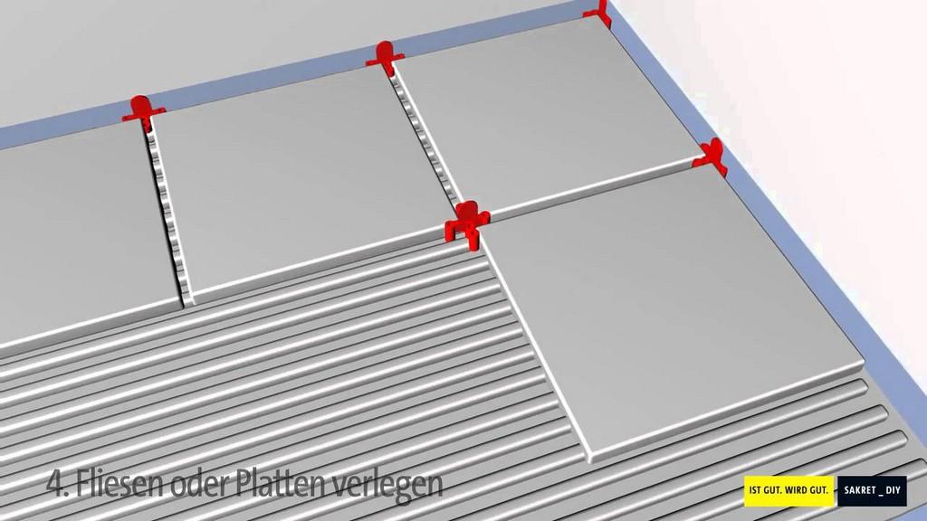 Bodenfliesen Bodenplatten Auf Balkonen Und Terrassen Verlegen Und in dimensions 1280 X 720