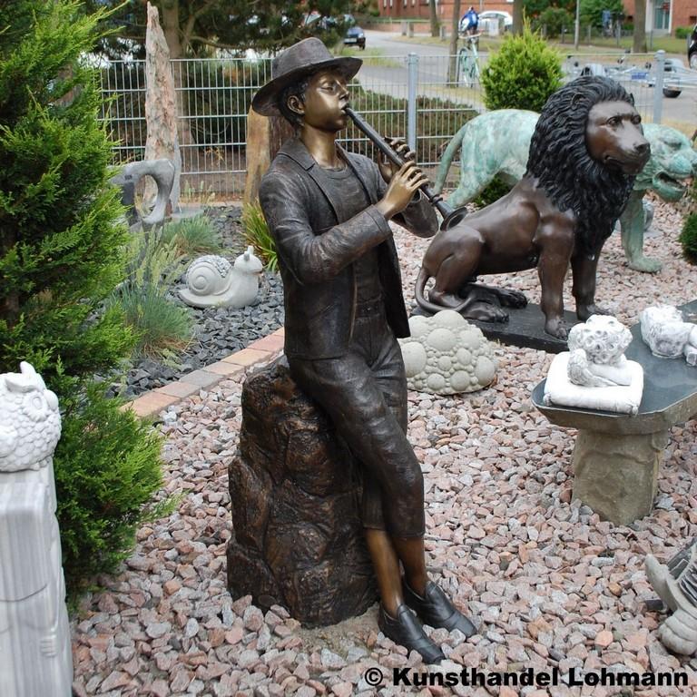 Bronzefigur Groer Fltenspieler Franz Als Wasserspeier inside dimensions 1200 X 1200