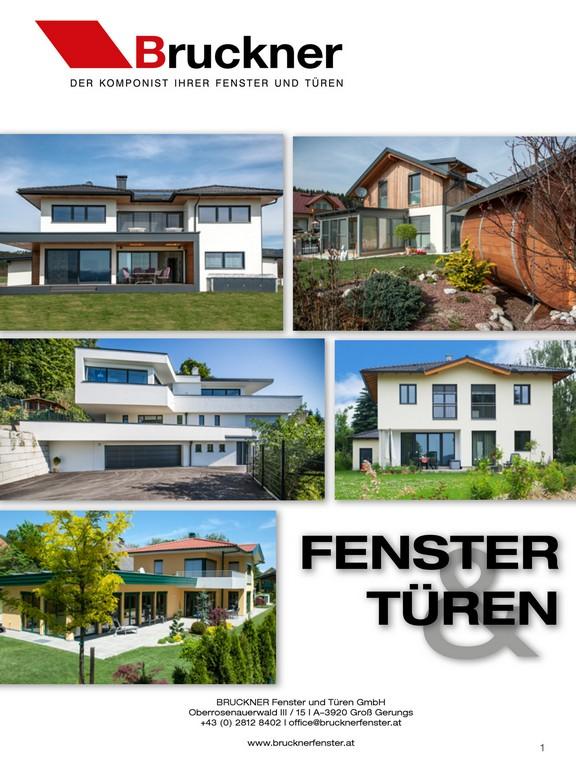 Bruckner Fenster Und Tren Hauptkatalog 2017 Seite 140 141 with regard to proportions 1386 X 1848