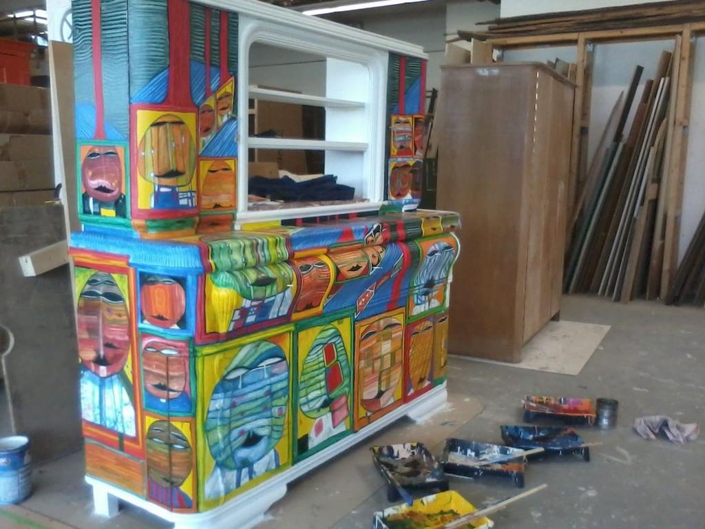 Buffet Mauer Mbel Kunsthandwerk Von Dimitri Wall Bei regarding dimensions 1280 X 960