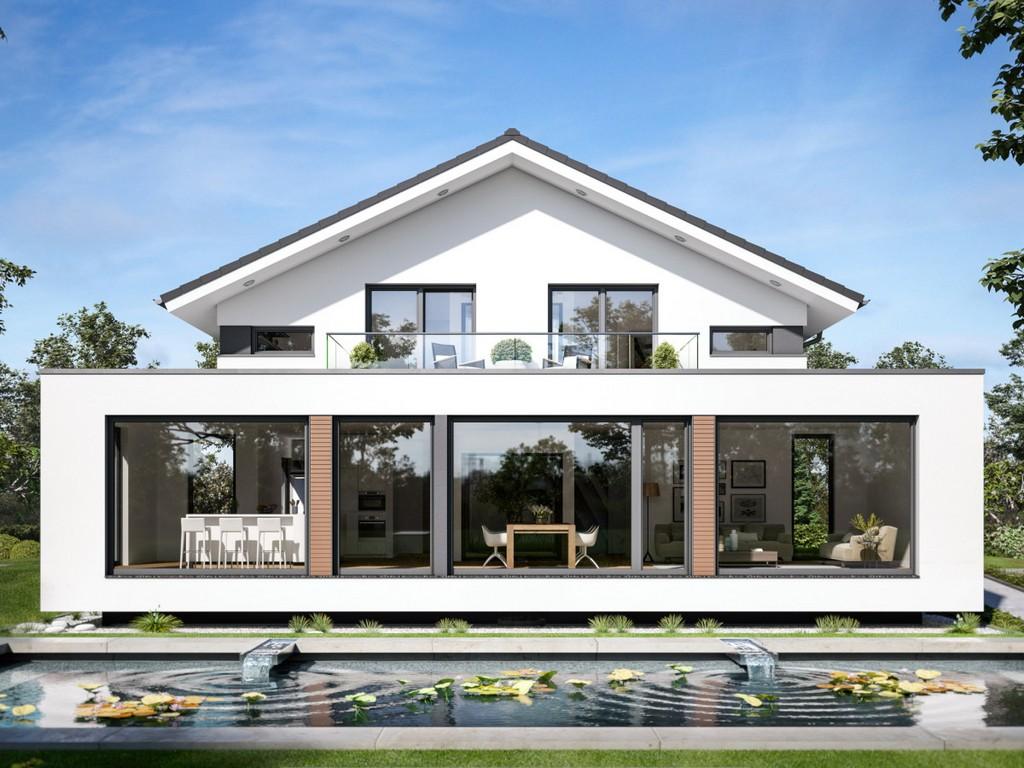 Concept M 210 Bien Zenker Fertighaus Hausbaudirektde intended for proportions 1200 X 900