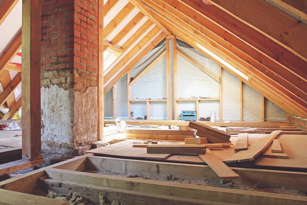 Dachbodenausbau Bauernhaus Dachboden Renovieren Ausbauen inside dimensions 1688 X 1125