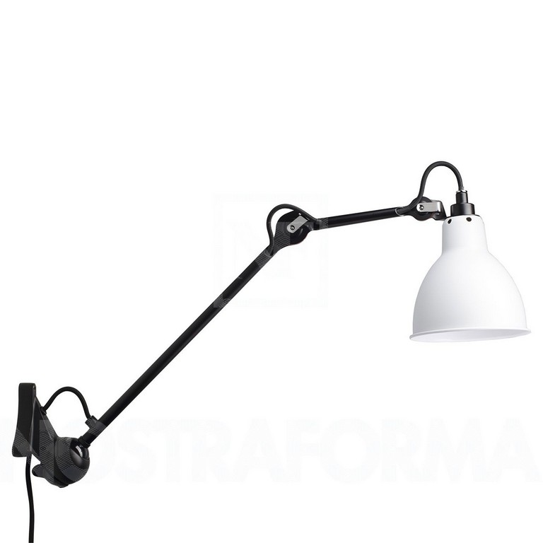 Dcw Lampe Gras No 222 Wall Lamp Black Structure Modern And for sizing 1400 X 1400