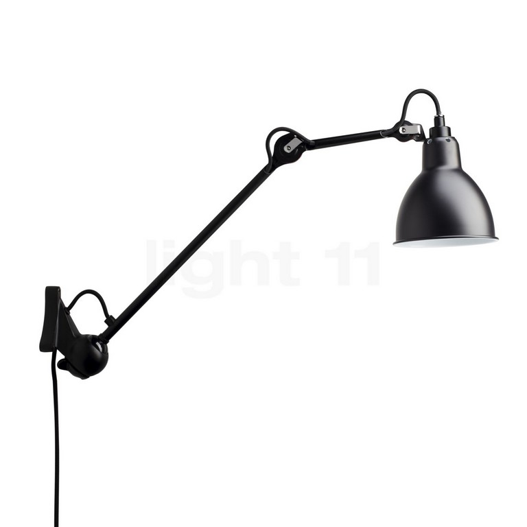 Dcw Lampe Gras No 222 Wandleuchte Schwarz Light11de with regard to sizing 1400 X 1400