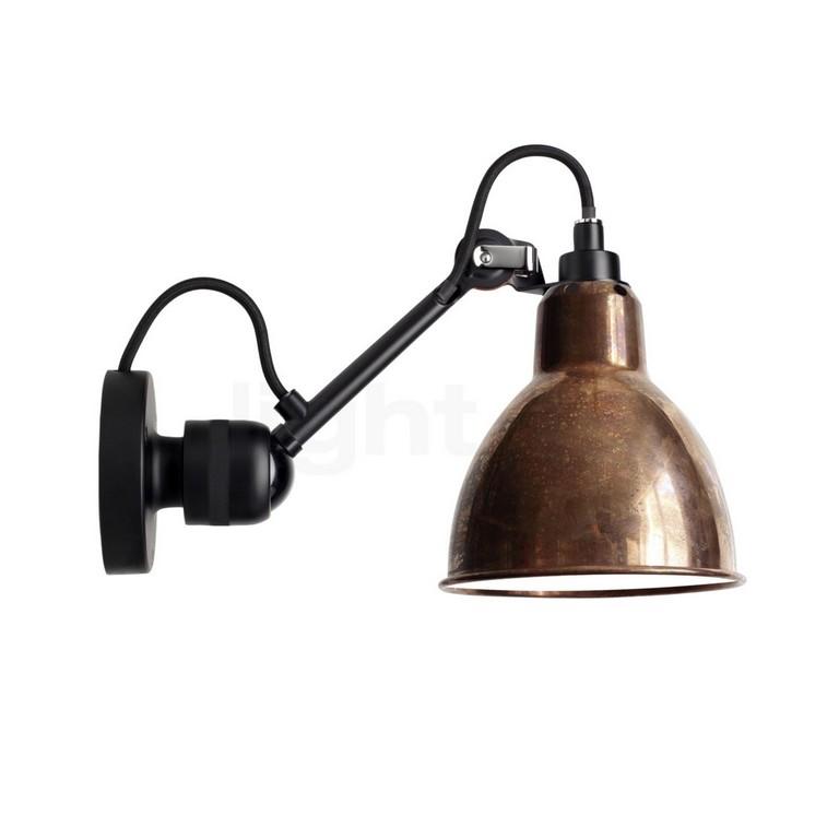 Dcw Lampe Gras No 304 Wandleuchte Schwarz Light11de throughout measurements 1400 X 1400