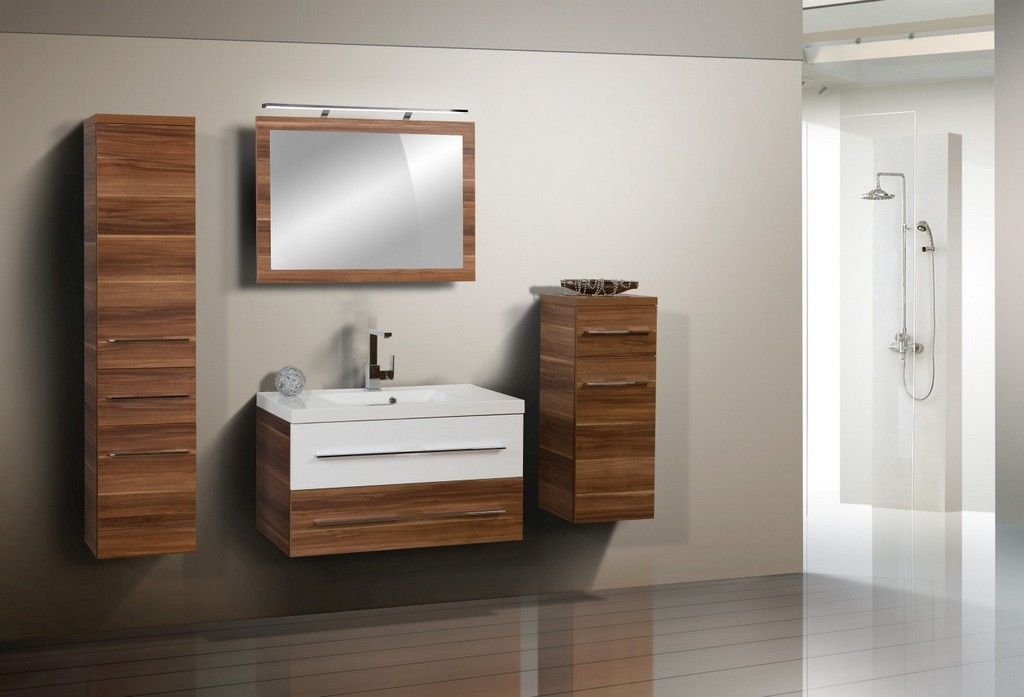 Design Badmbel Set Waschbecken 90 Cm Designbaeder with regard to sizing 1400 X 953