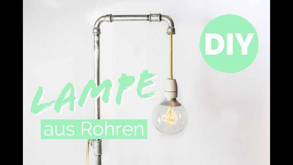 Design Lampe Selber Machen Tipps Lampe Anschlieen Rohrlampe inside measurements 1280 X 720