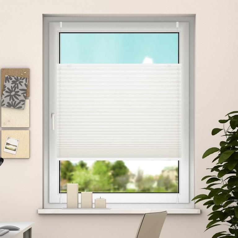 Deswin Klemmfix Plissee Fenster Trtren Falt Rollo Ohne Bohren 100 within proportions 1600 X 1600