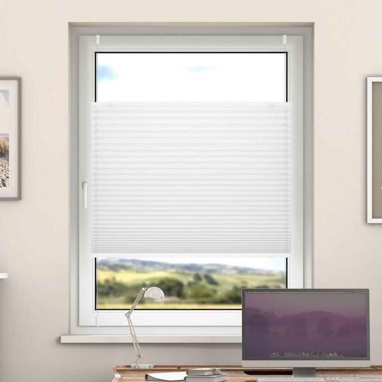 Deswin Klemmfix Plissee Fenster Trtren Falt Rollo Ohne Bohren pertaining to size 1600 X 1600