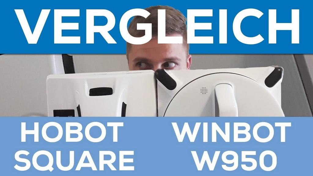Duell Fensterputzroboter Testlauf Hobot Square 628 Vs Ecovacs pertaining to sizing 1280 X 720