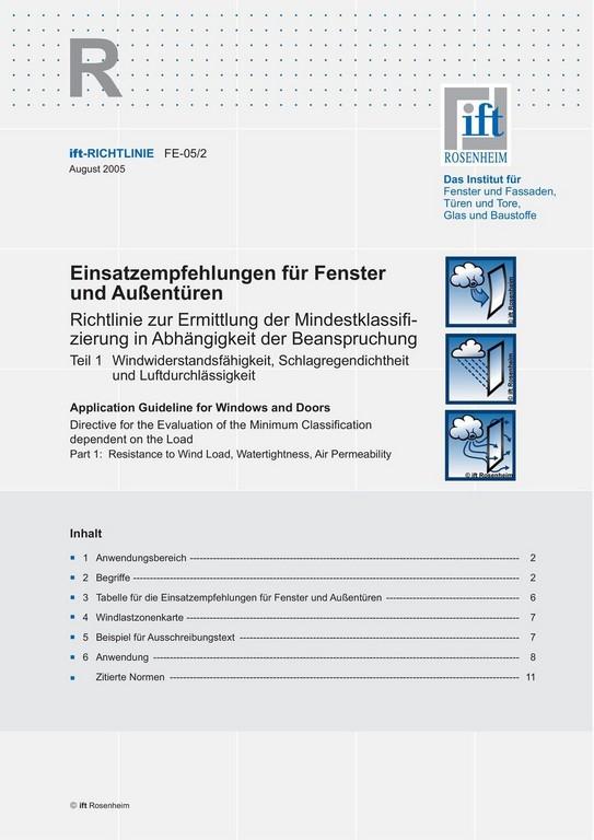Einsatzempfehlungen Fr Fenster Und Auentren Pdf with size 960 X 1358