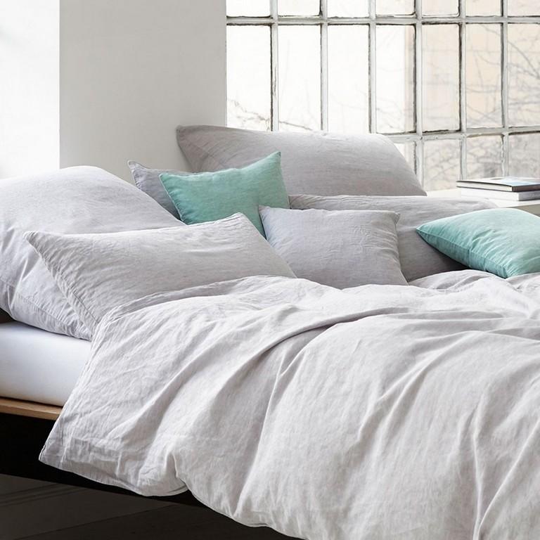 Elegante Bettwsche Breeze Mint 155 X 220 Cm Bett Und So throughout dimensions 1000 X 1000