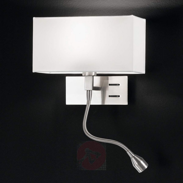 Elegante Wandleuchte Emilian Mit Led Leselampe Kaufen Lampenweltde in size 1200 X 1200