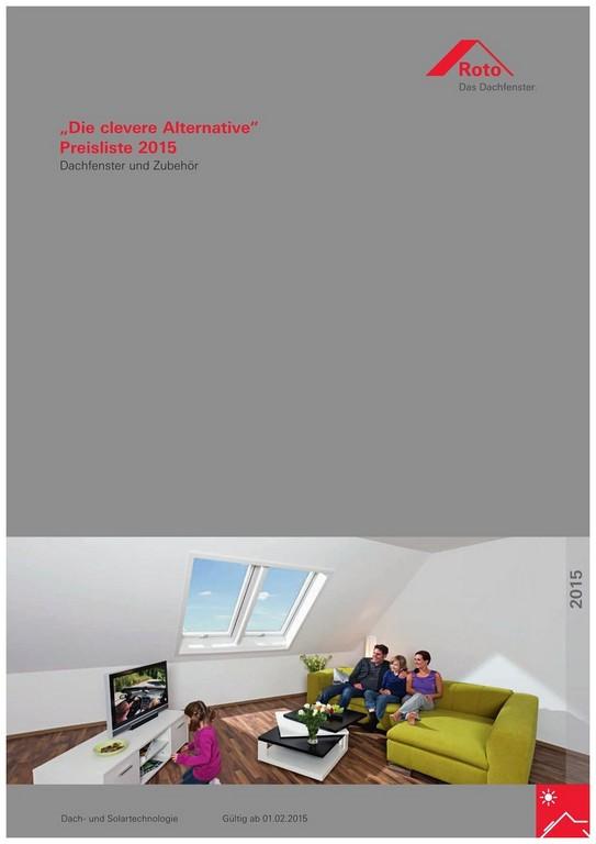Erstaunlich Roto Fenster Preisliste Bilder Von Fenster Idee 597278 throughout proportions 900 X 1273