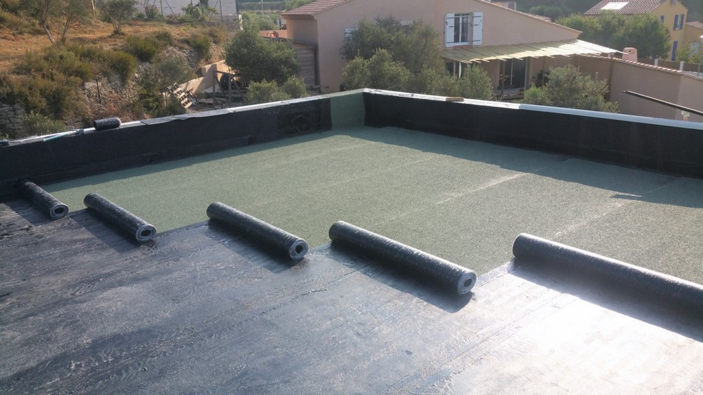 Etanchit Toiture Terrasse Inaccessible Auto Protg Avec Isolation within proportions 1600 X 900