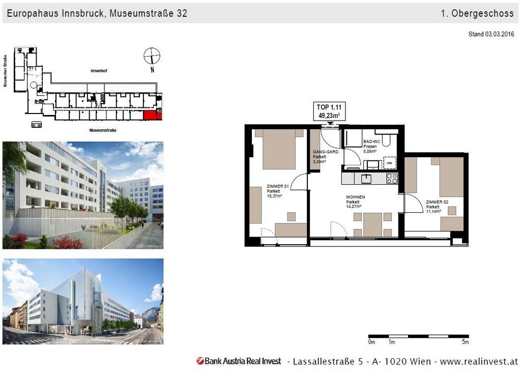 Europahaus Wohnung Mieten Innsbruck 2 Zimmer Wohnungen Top 1 pertaining to proportions 1061 X 755