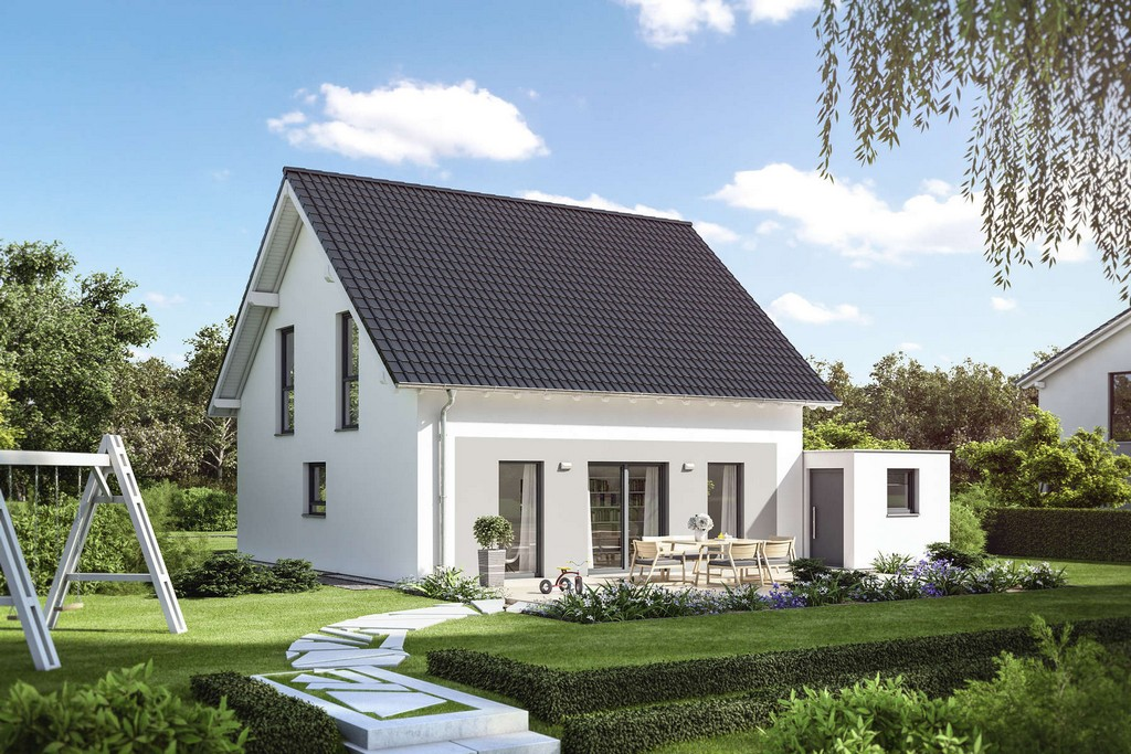 Fassadengestaltung Einfamilienhaus Grau Haus Deko Ideen for dimensions 1800 X 1200