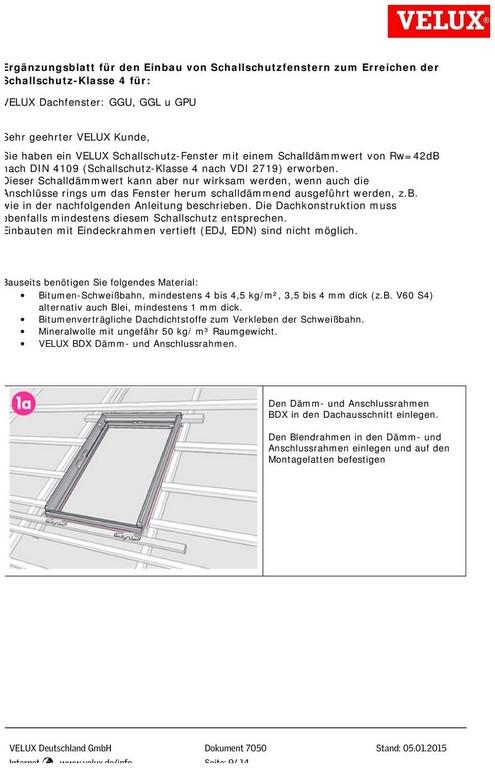 Fenster Schallschutz 248861 Empfehlungen Fr Anschlsse Von intended for measurements 960 X 1489