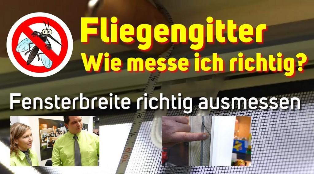 Fensterbreite Fr Fliegengitter Ausmessen Wie Messe Ich Richtig with size 1406 X 780