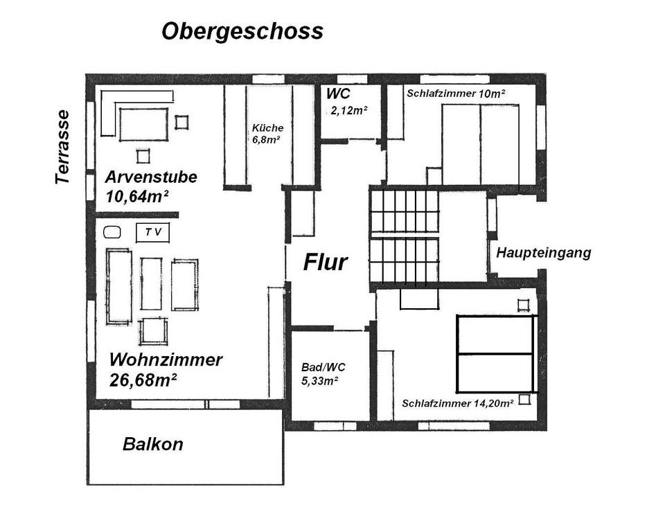Ferienhaus Chasa Unicorn Scuol 6 Personen 45 Zimmer 3 pertaining to size 1324 X 1089