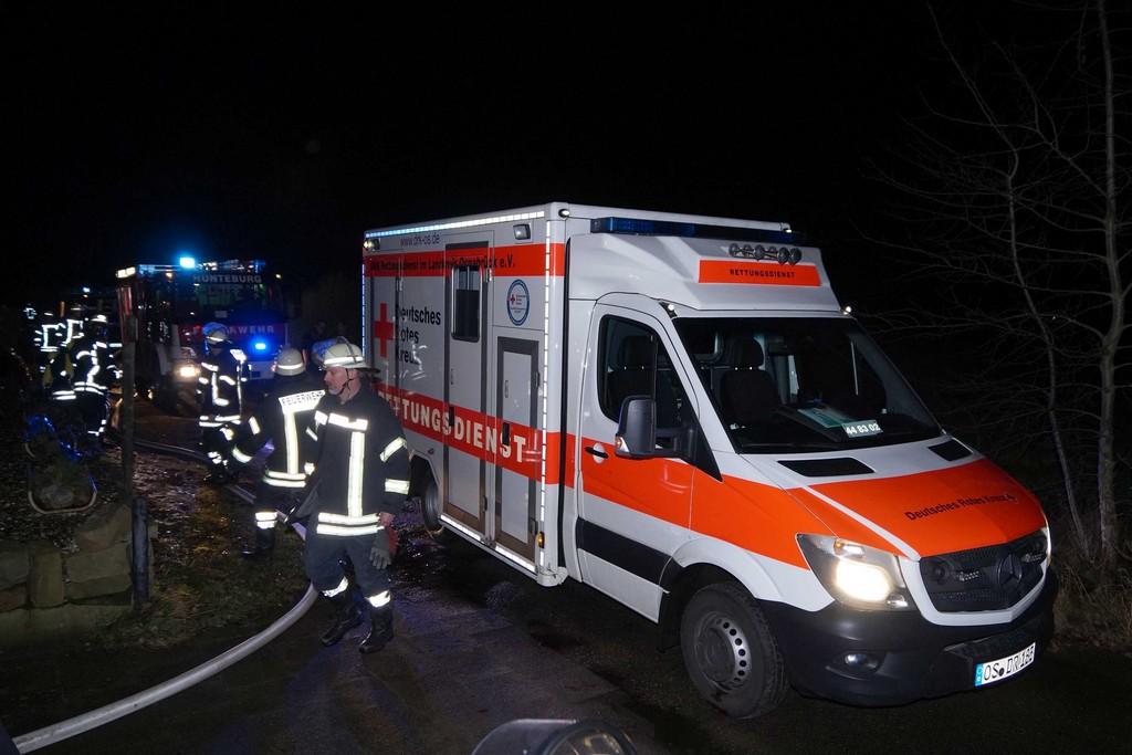 Feuerwehr Hunteburg Zu Gebudebrand Alarmiert Bller Flog Durch throughout sizing 2736 X 1824