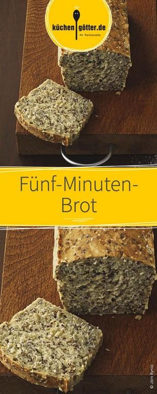 Fnf Minuten Brot Rezept Ruhte Weizen Und Dinkel in measurements 590 X 1475