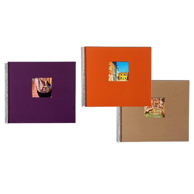 Fotoalbum Bella Vista Trend Spiralalbum Mittel Fotoalbumshop inside size 1200 X 1200