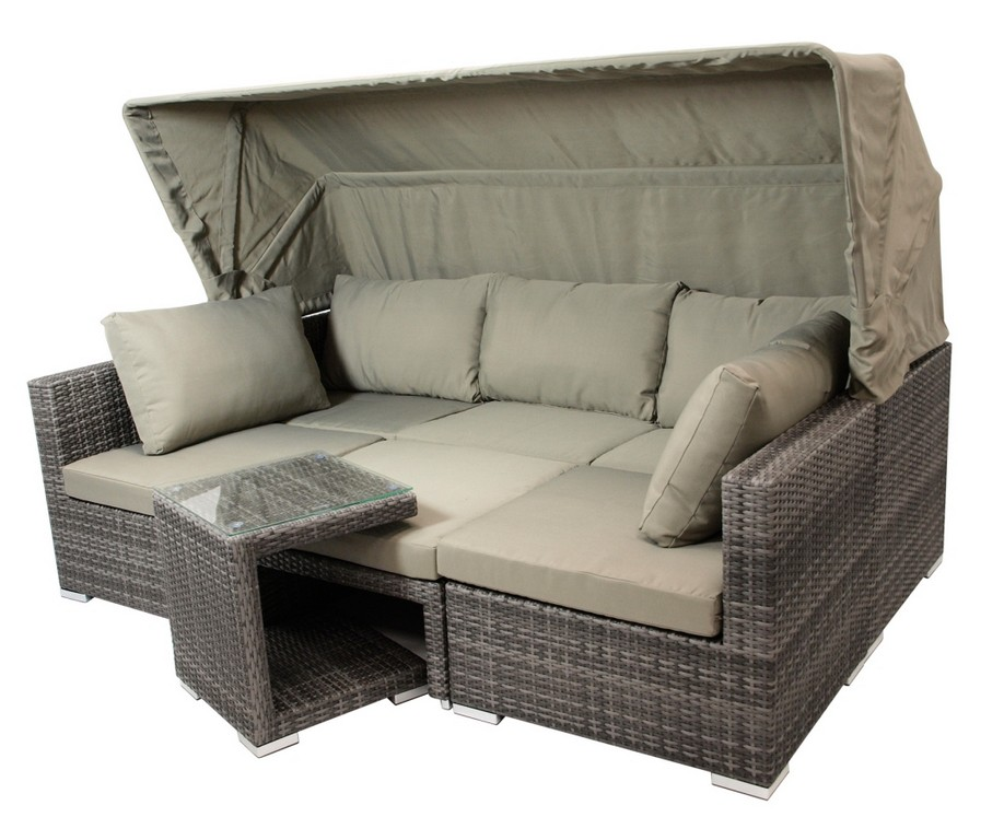 Funktions Loungeset Manacor 5 Teilig Loungembel Gartenmbel throughout dimensions 1076 X 900