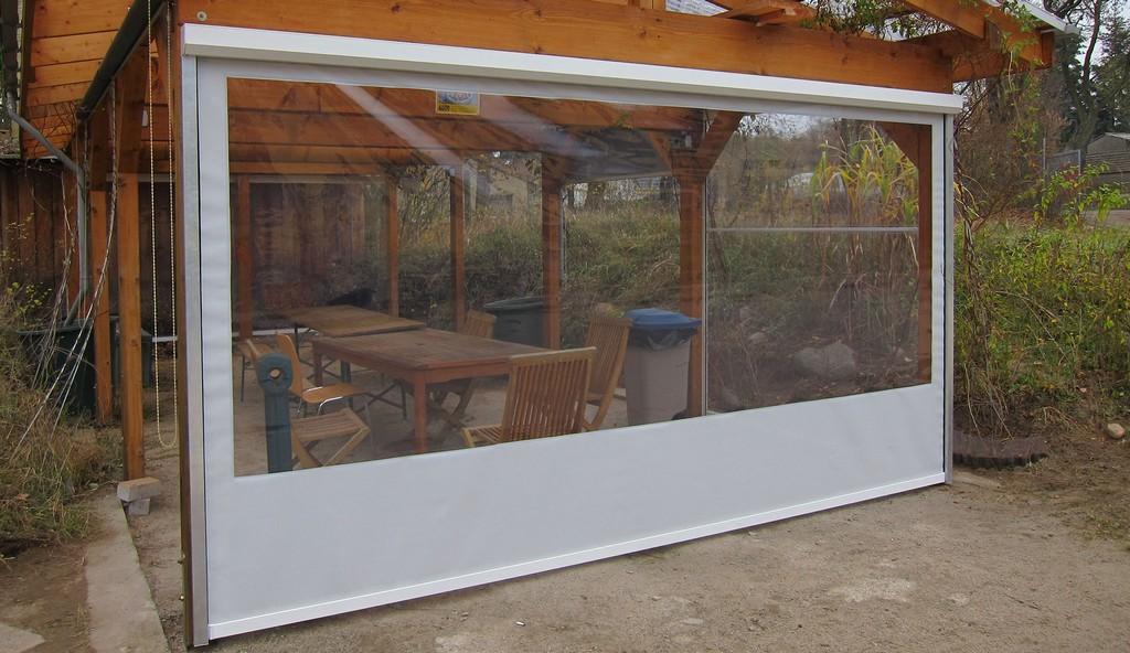 Gallery Of Wetterschutzrollo Terrasse Terrassen Sichtschutz Rollo with size 2048 X 1185
