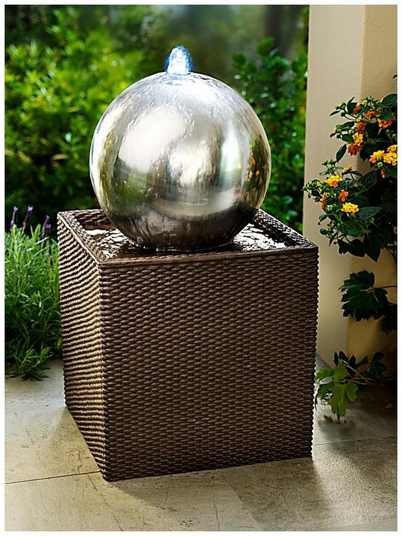 Gartenbrunnen Mit Beleuchtung 127379 Gartenbrunnen Rattan Mit Led regarding dimensions 800 X 1067