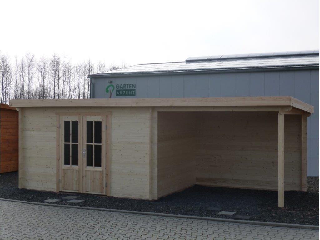 Gartenhaus Kln 40 X 30m 3m Terrasse Mit Boden Flachdach in sizing 1024 X 768