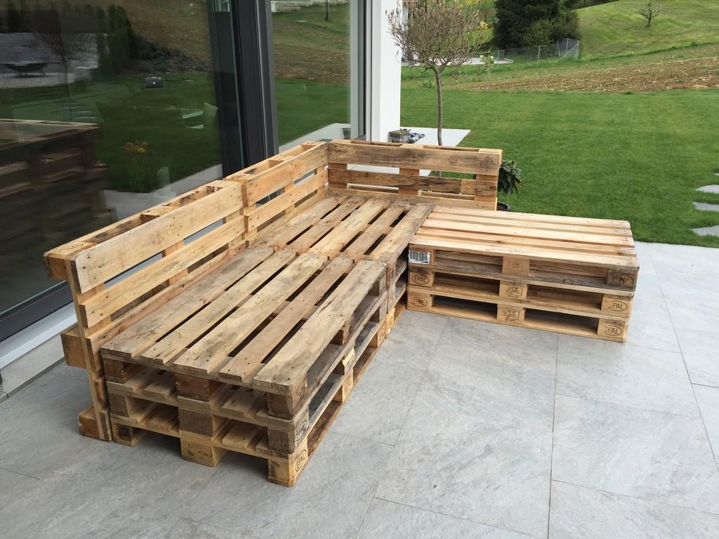 Gartenlounge Aus Paletten Selber Bauen Heimwerkerking throughout dimensions 3264 X 2448