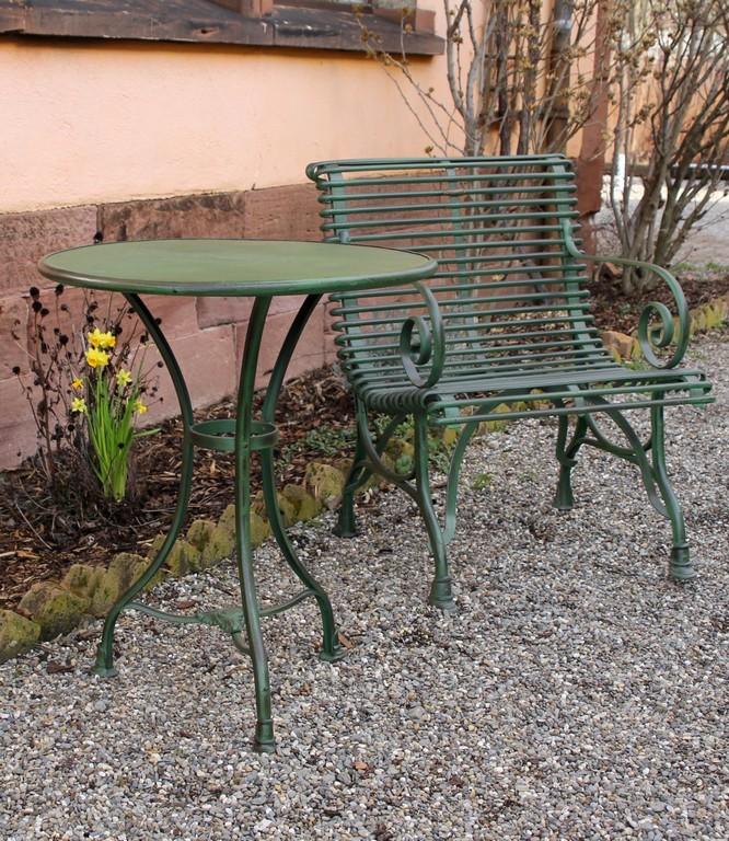 Gartensessel Arras Eisen Patiniert Von Replicata Tiefe 58 Cm intended for size 1041 X 1200