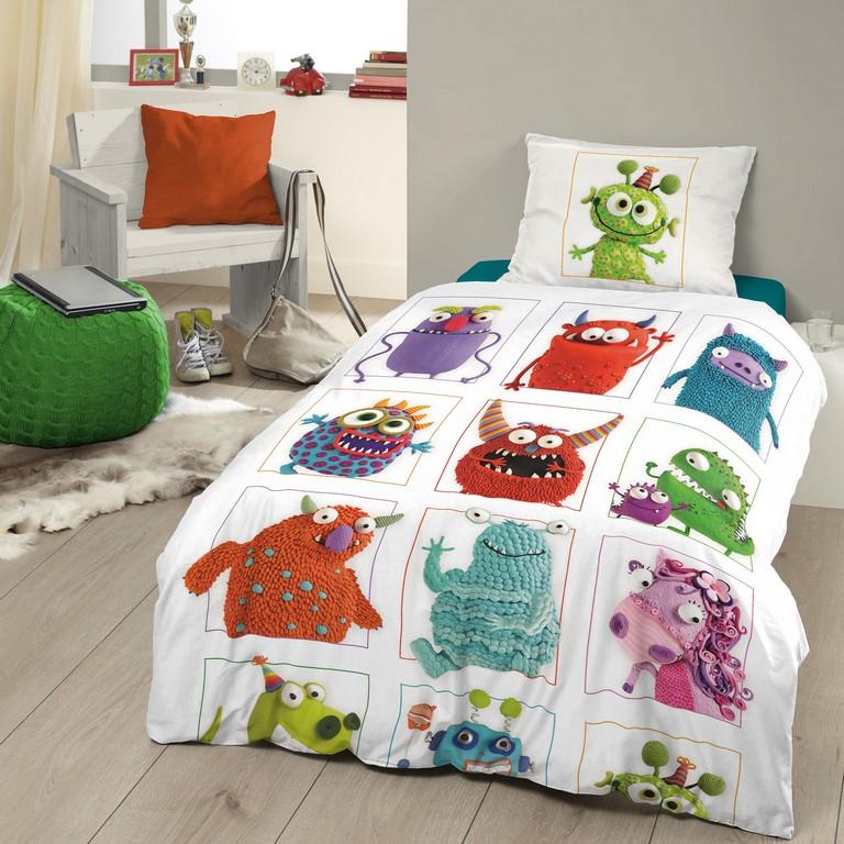 Good Morning Kinder Bettwsche Monster 100 Baumwolle Multi regarding proportions 2000 X 2000