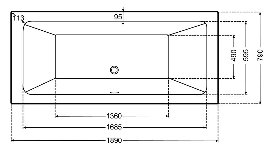 Groartig Lnge Badewanne Standard Charmante Architektonische within proportions 2353 X 1333