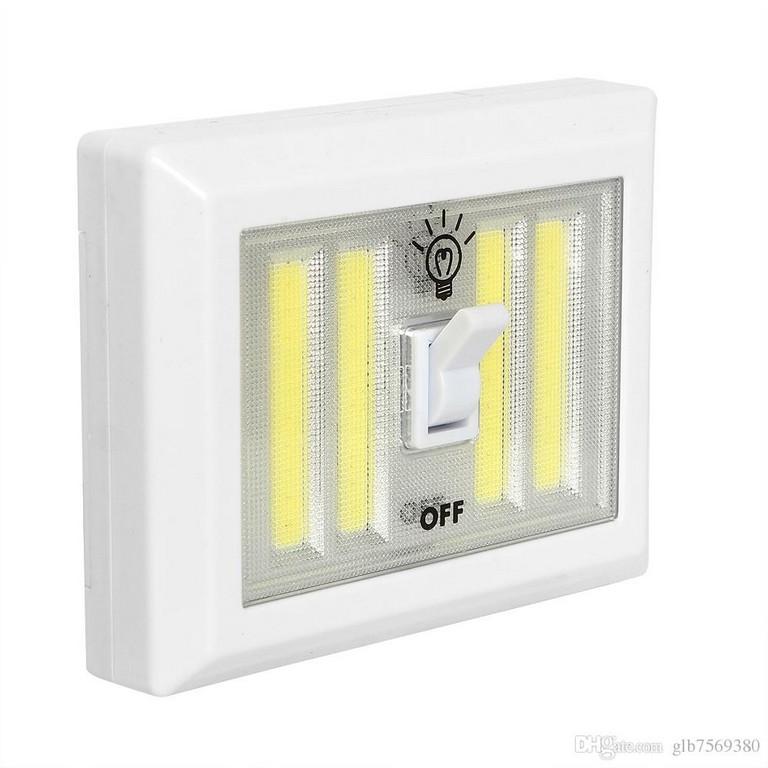 Grohandel Magnetische 4 Cob Led Schnurlose Licht Schalter Wand regarding sizing 1000 X 1000