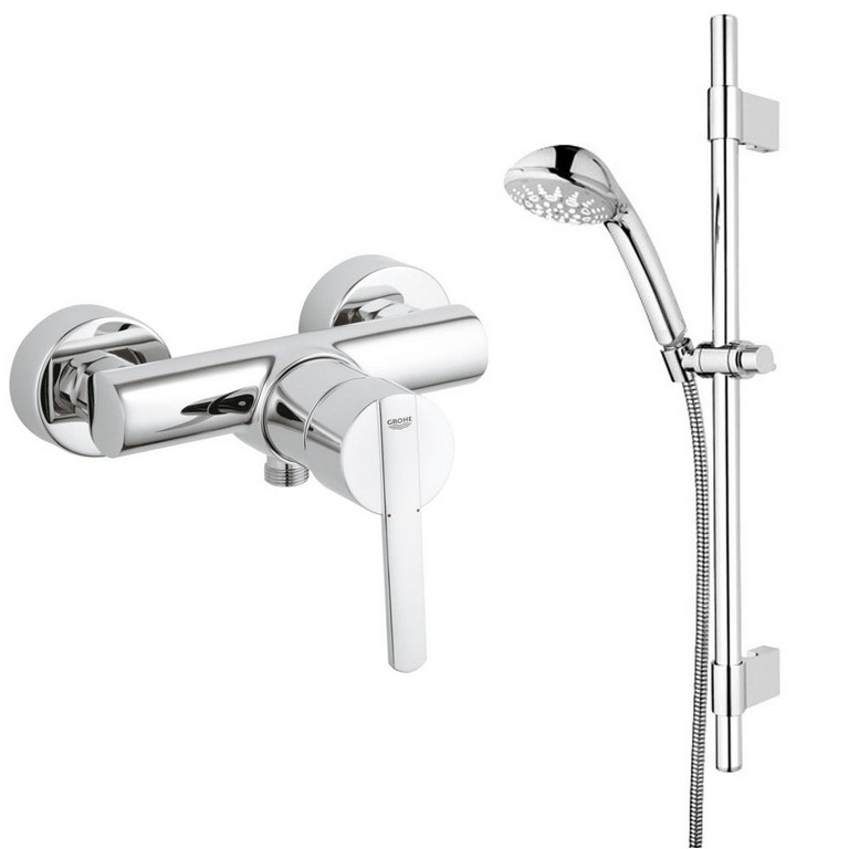 Grohe Bad Armaturen Sets Armatur Thermostat Brause Fr Dusche O pertaining to sizing 1000 X 1000